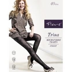 Trina Patterned Pantyhose by Fiore