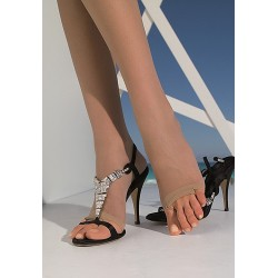 Tropea Open-Toe Pantyhose by Trasparenze