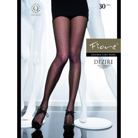Dezire Polka Dot Pantyhose by Fiore