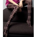 Kira Tartan Pattern Tights by Veneziana