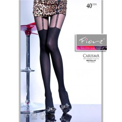 Carisma Mock Suspender Tights by Fiore