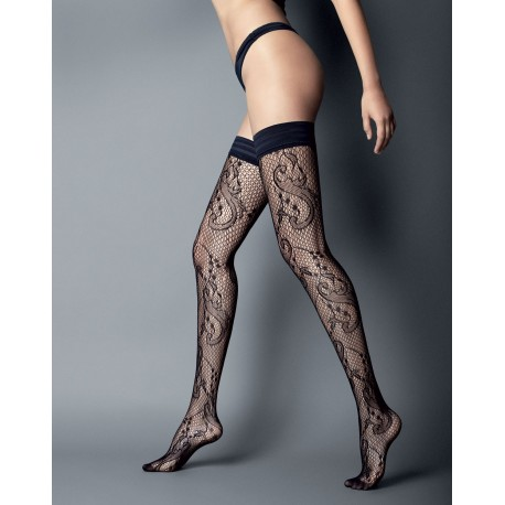 Pizzo Sissi Thigh-Highs by Veneziana
