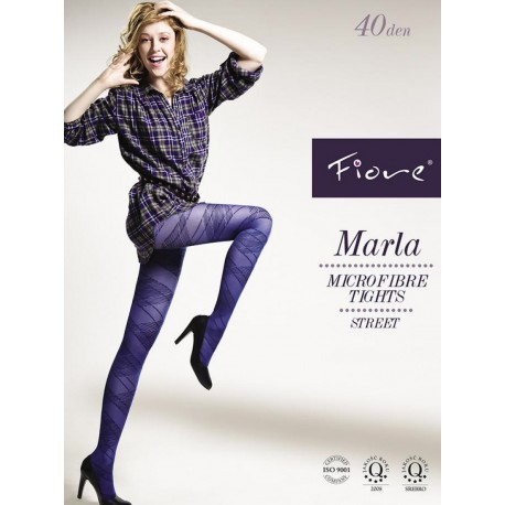 Marla Argyle Tights by Fiore
