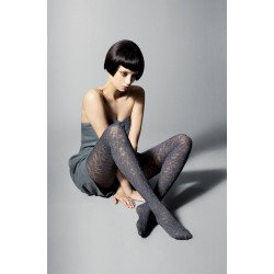 Victoria Patterned Tights by Veneziana