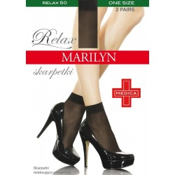 Relax 50 Ankle Socks by Marilyn