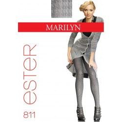 Ester 811 Houndstooth Tights by Marilyn