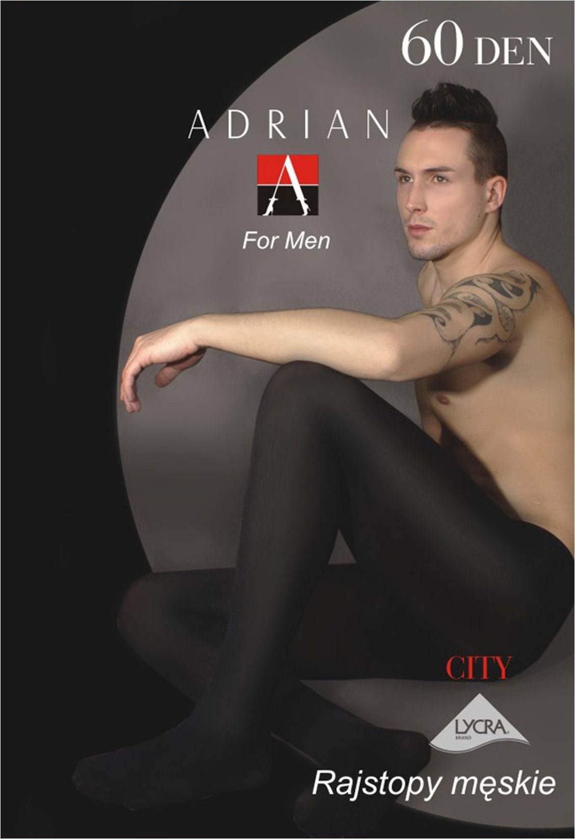 Fishnet Tights For Mens City Men's Tights by Adrian