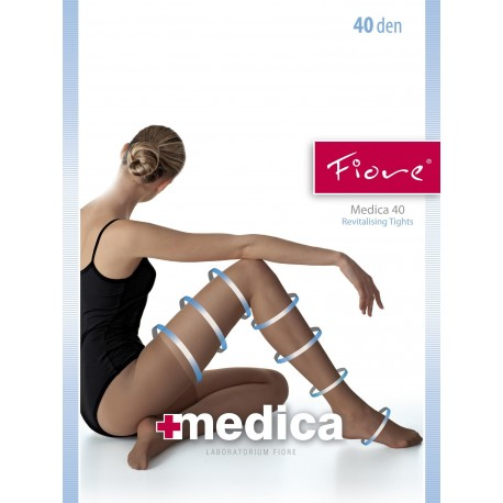 Medica 40 Pantyhose by Fiore
