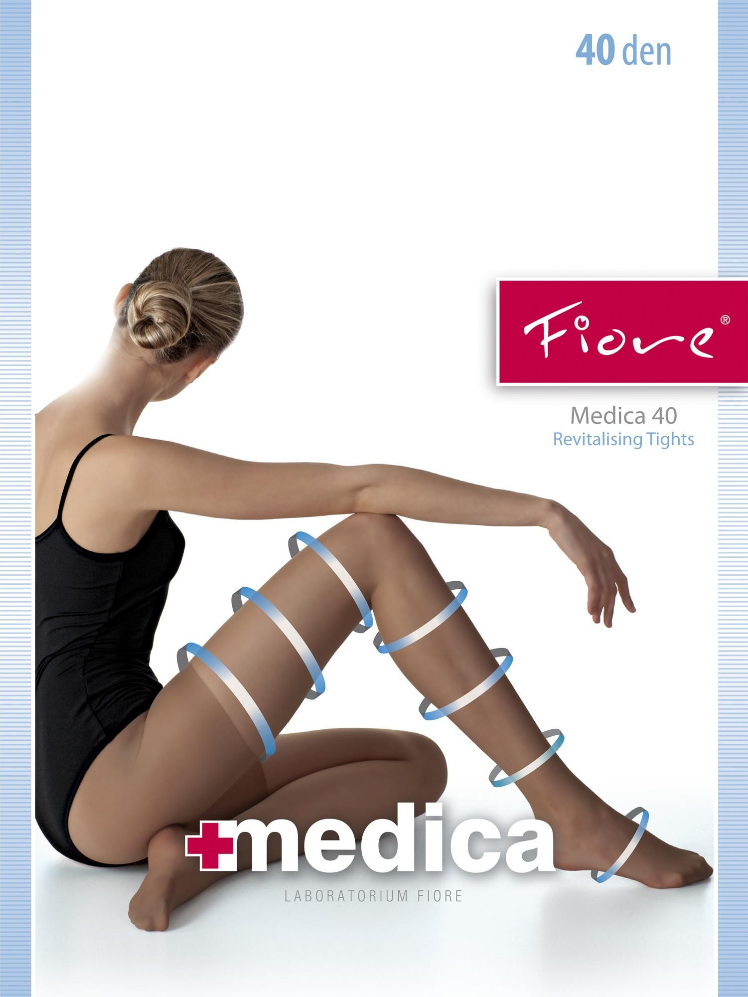 medica 40 pantyhose by fiore. Black Bedroom Furniture Sets. Home Design Ideas