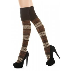 Marilyn Zazu Snow A41 Over-The-Knee Socks