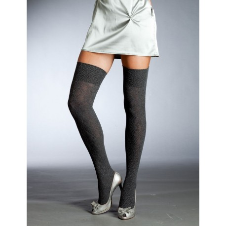Cotton Over-the-Knee Socks 2486 by Primavera