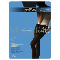 Omsa Velour 40 Low-Rise Tights