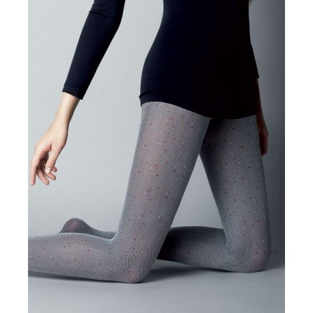 Tweed Botonatto Tights by Veneziana
