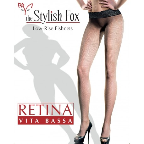 Retina Vita Bassa Low-Rise Fishnets