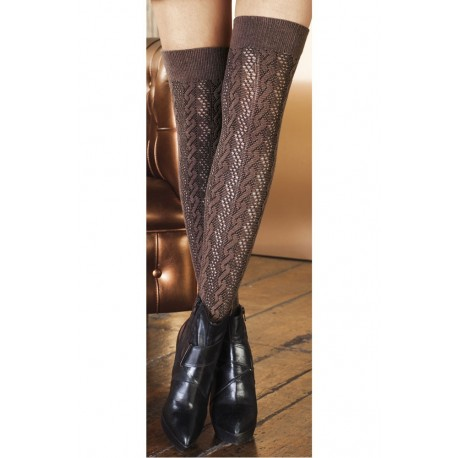 Ametista Cotton Over-The-Knee Socks