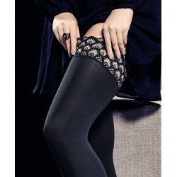 Kunert Peacock Opaque Thigh-Highs