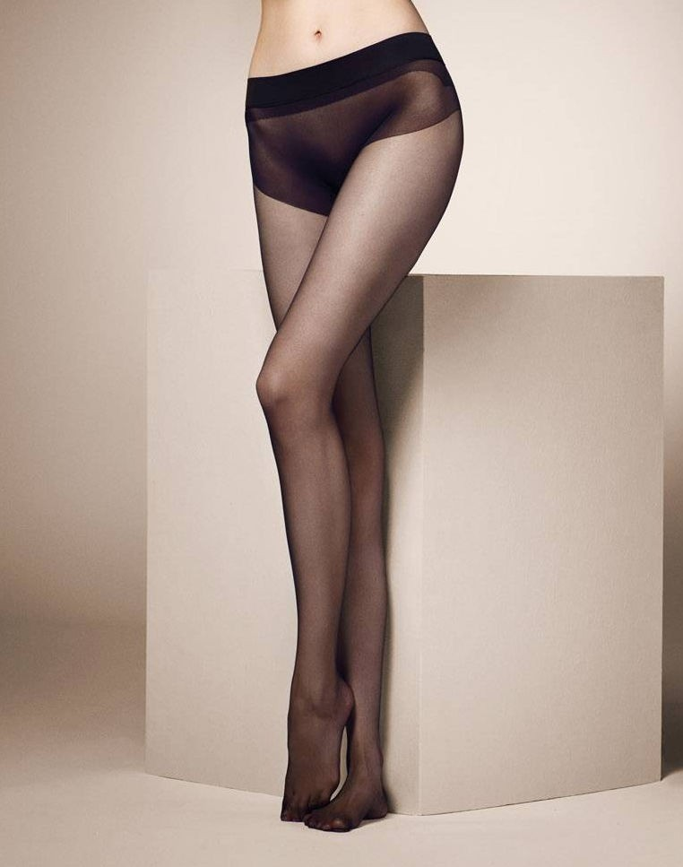 In Seamless Pantyhose At The 55
