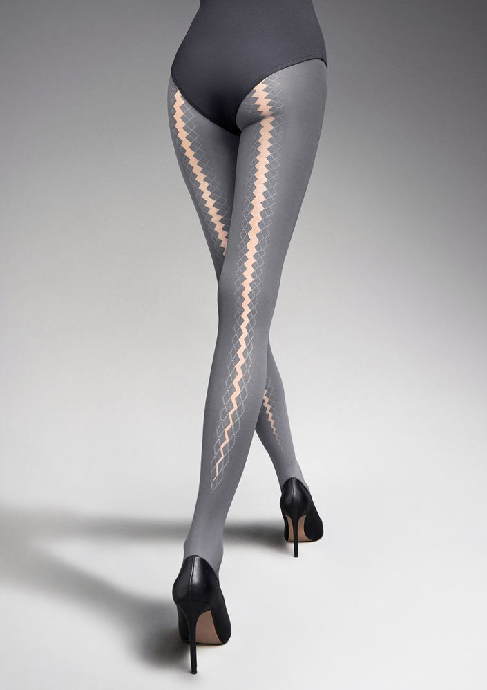 patterned pantyhose tights