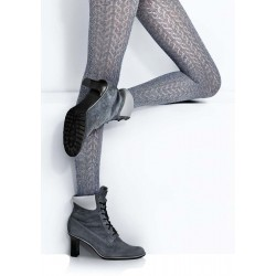 Sophia ZG611 Cotton Crochet Lace Tights