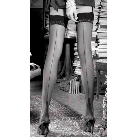 Pennac Back-Seam Stockings by Trasparenze