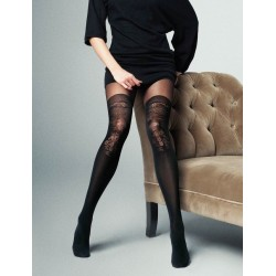Lindsay Mock Thigh-High Tights